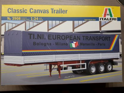 Italeri 3908 Classic Canvas Trailer